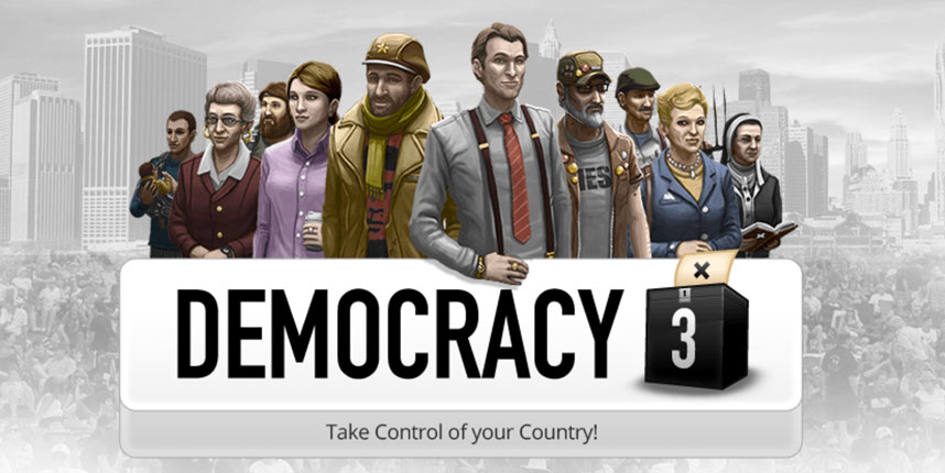Cliff Harris and Democracy 3, the game you can't beat